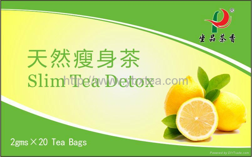 Chinese Herbal Slim Detox Tea bag 1