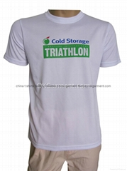 Custom triathlon sports t shirts, design your sports t shirts