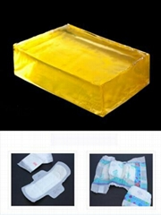 2.Hot Melt Positioning Adhesive Glue For Sanitary Napkin Pad