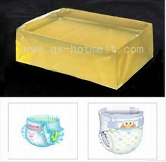 Hot Melt Elastic Adhesive Glue For Diaper