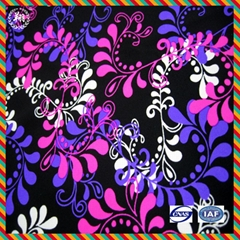 nylon spandex print fabric for swimwear