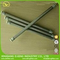 Stainless steel end cap thread candle filter cartridge