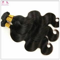 Wholesale 7A Brazilian Remy Hair Double Drawn Body Wave Hair