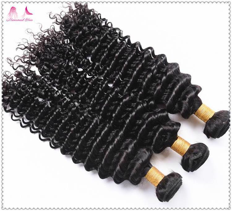 Best Price Virgin Brazilian Hair Top Quality Deep Curly Human Hair Bundles 1