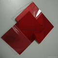 Red acrylic mirror plexiglass acrylic sheet 1220*1830 2