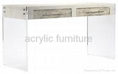 Acrylic desk acrylic table acrylic dressing table acrylic furniture