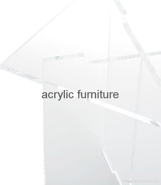 Acrylic stool acrylic side table end table acrylic funiture  3