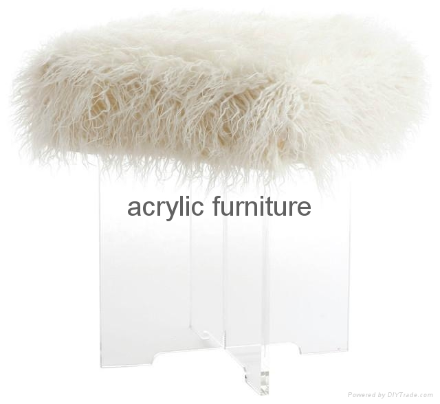 Acrylic stool acrylic side table end table acrylic funiture  4