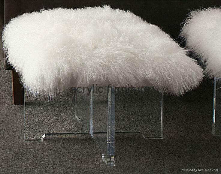 Acrylic stool acrylic side table end table acrylic funiture  1
