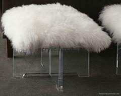 Acrylic stool acrylic side table end table acrylic funiture