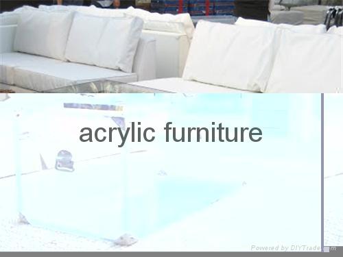 Acrylic box acrylic coffee table acrylic table acrylic side table  funiture 1