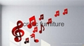 Red acrylic mirror plexiglass acrylic sheet 1220*1830 1