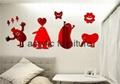 Red acrylic mirror plexiglass acrylic sheet 1220*1830 3