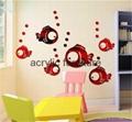 Red acrylic mirror plexiglass acrylic sheet 1220*1830 4
