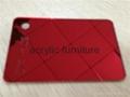 Red acrylic mirror plexiglass acrylic sheet 1220*1830 5
