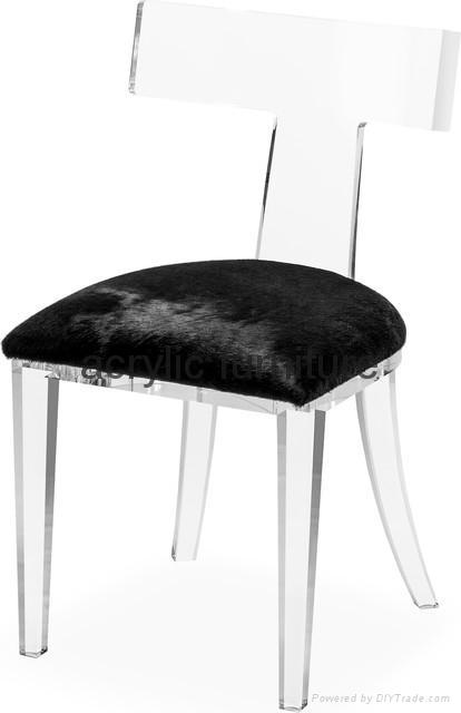 Acrylic dinning chair acrylic chair acrylic furniture legs acrylic arm chair 5