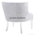 Acrylic sofa acrylic chair acrylic furniture acrylic legs furniture legs 4