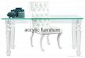 Acrylic desk acrylic table acrylic