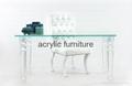 Acrylic desk acrylic table acrylic furniture dinning table 3