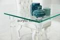 Acrylic desk acrylic table acrylic furniture dinning table 4
