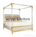 Acrylic bed acrylic funiture acrylic rod