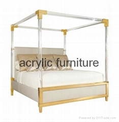 Acrylic bed acrylic funiture acrylic rod