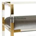 Acrylic bed stool acrylic long stool acrylic funiture 4