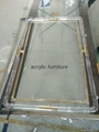 Acrylic mirror frame acrylic furniture acrylic frame  5