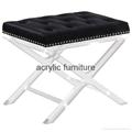 Acrylic stool acrylic side table end