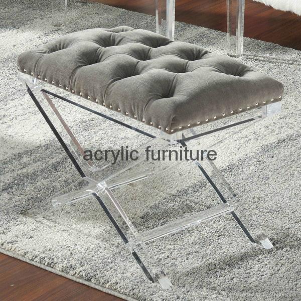 Acrylic stool acrylic side table end table acrylic funiture  5