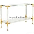Acrylic console table entrance table acrylic furniture  3