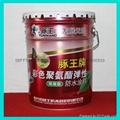 單組分油性彩色聚氨酯彈性防水塗