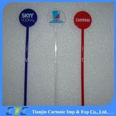 Custom Plastic Coffee Stir Sticks