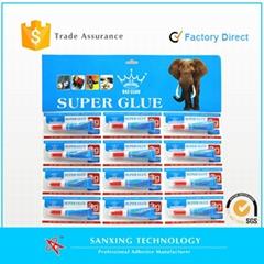 3 seconds super glue in aluminium tube 1.5g-3g/pc cyanoacrylate adhesive OEM