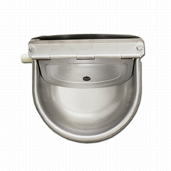Automatic cattle drinkers/stainless steel float water bowl