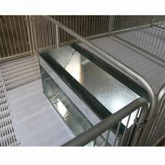 Manufature pig automatic feeders pig trough/fattening nursery pig feeder