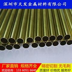 h65环保黄铜毛细管