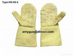 500 ℃ High Temperature Resistance & Wearable Kevlar Gloves HG-S2-2