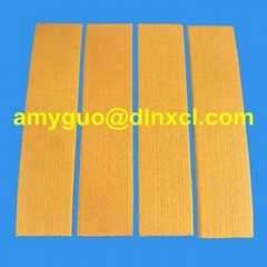 600 ℃ Heat Resistance PBO+Kevlar Pad / Strip For Aluminium Extrusion