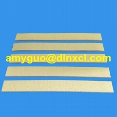 500 ℃ Heat Resistance Kevlar Pad / Strip For Aluminium Extrusion