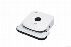 Mop cleaning robot with AI system