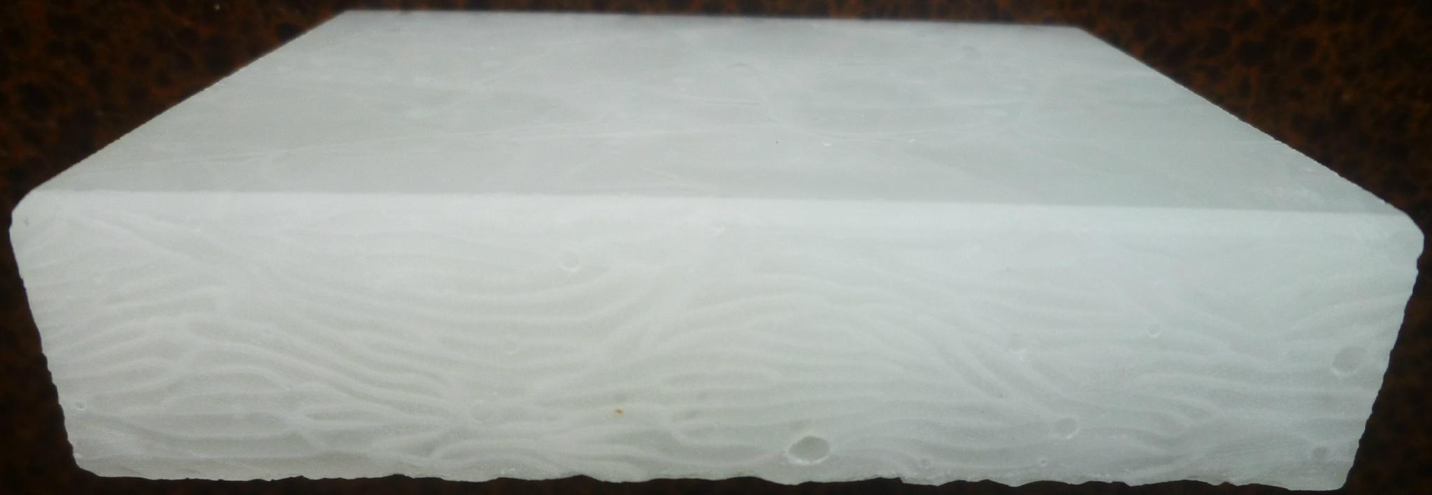 冰晶翡翠白玉通體微晶石大板 1