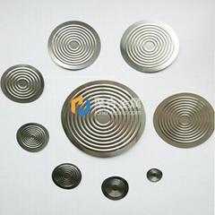 Metal Diaphragms for Pressure Sensor