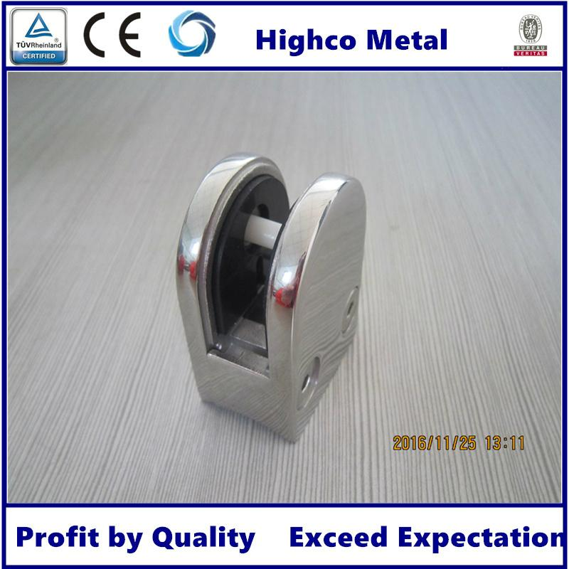Stainless Steel Glass Clamp  Railing Balustrade 2