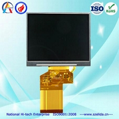 China top manufacture for TFT lcd panel with touch screen optional