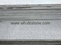 sesame gray granite round stone Used in