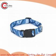 Custom Design 6 Colors Plastic Buckle Dog Collars Wholesale