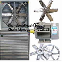 poultry ventilation exhaust fan