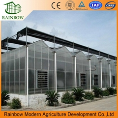 polycarbonate greenhouse for agriculture
