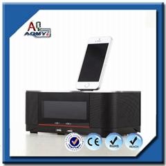 2016熱銷產品迷你便攜式無線藍牙音箱,配有FM收音機液晶屏T
